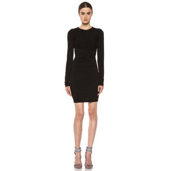 T by Alexander Wang Dresses & Skirts - T Alexander Wang Pique Mesh Twist Bodycon Dress